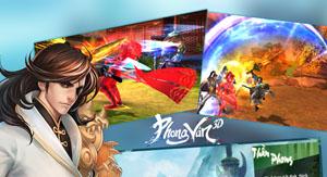 Phong Vân 3D tặng giftcode cho game thủ 2Game