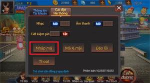 Quyền Vương 98 tặng giftcode cho game thủ 2Game