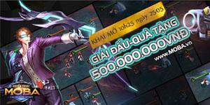 Huyền Thoại MOBA tặng giftcode cho game thủ 2Game
