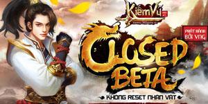 Webgame Kiếm Vũ tưng bừng Closed Beta với hàng loạt sự kiện hấp dẫn