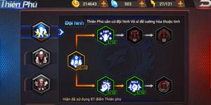Quyền Vương 98 – Điểm Thiên Phú: Tài nguyên quý và hiếm bậc nhất trong game