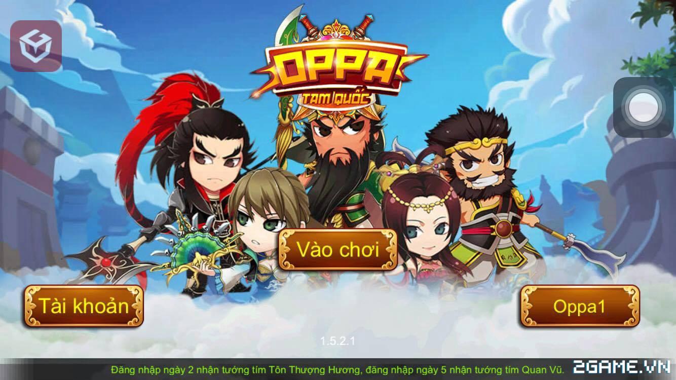 Cùng thủ thành bảo vệ mỹ nhân với game mobile Oppa Tam Quốc