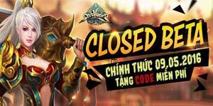 Tặng 300 giftcode game Soái Vương bản closed beta