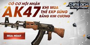 Chiến Dịch Huyền Thoại – Ra mắt vũ khí mới: Súng trường AK47