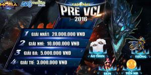 Pre VCL: Bước đệm cho hành trình đến Chung kết Thế giới của Huyền Thoại MOBA