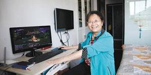 Game thủ hardcore cũng phải ngả mũ trước cụ bà 69 tuổi
