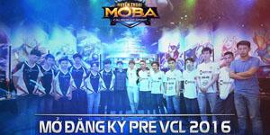 Huyền Thoại MOBA – Ban tổ chức Pre VCL thay đổi mục tiêu vì… quá nhiều đội tham gia