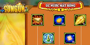 Tặng 1000 giftcode game GunGun Online