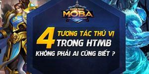 Huyền Thoại MOBA tiết lộ 4 tương tác thú vị trong game