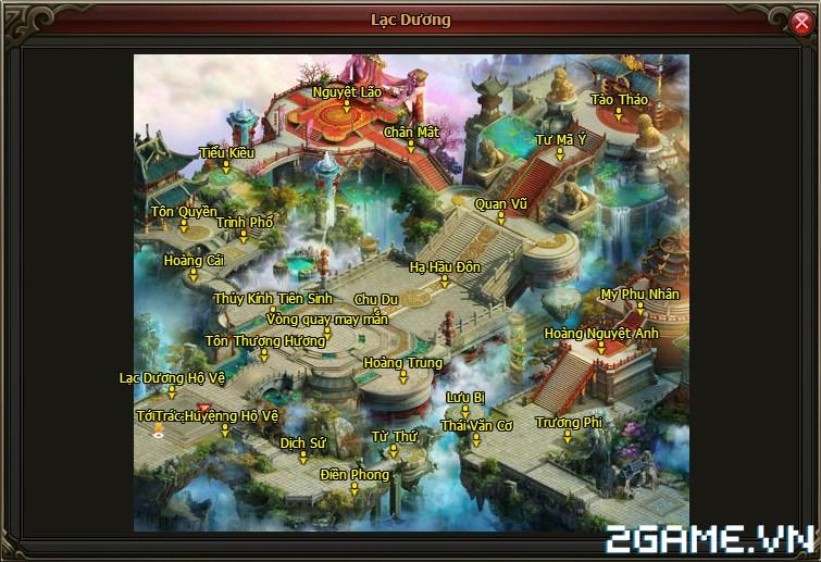 Võ Lâm Vương Giả – Tìm hiểu Bản đồ