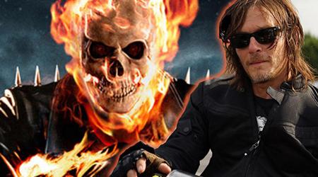 Daryl của The Walking Dead được mời vào vai diễn Ghost Rider ?