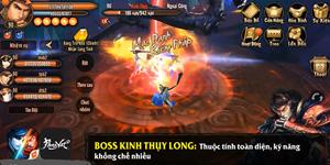 Phong Vân 3D – Chiến thuật đánh boss Lăng Vân Quật cấp thường