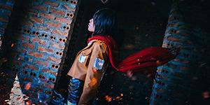 """Bộ ảnh cosplay Attack on Titan """"chất lừ"""" gây bão cộng đồng Manga"""