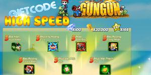Tặng 1010 giftcode game GunGun Online