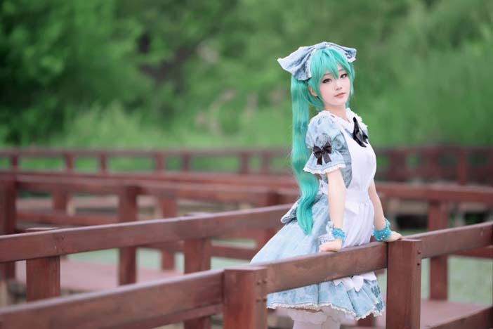 Vocaloid Hatsune Miku Ver Alice in Music (5)