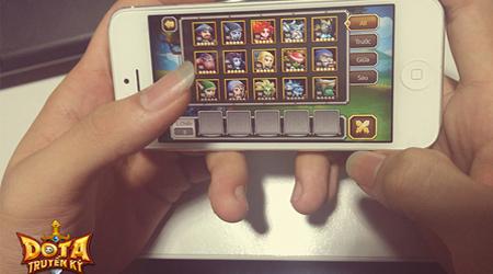DoTa Truyền Kỳ ra mắt phiên bản iOS