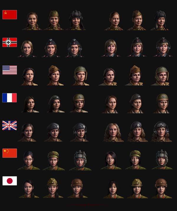 Chiêu mộ đội lính nữ trong nhiệm vụ cá nhân mới của World of Tanks