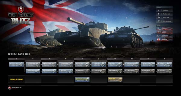 Binh đội hoàng gia Anh bất ngờ tham chiến trong World of Tanks Blitz