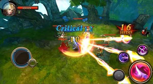 Burning Blade mobile game 3D chặt chém thú vị vừa ra mắt