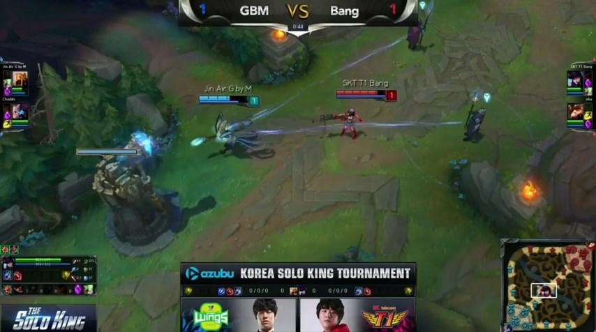 LMHT: Ngày thi đấu thứ 4 giải The Solo King 1v1 Hàn Quốc