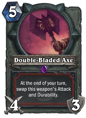 Double-Bladed Axe