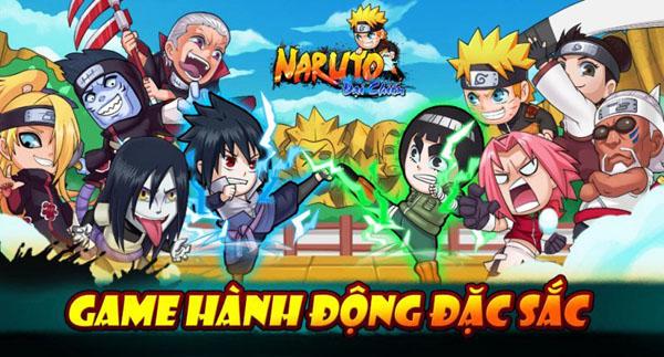 """Tham gia """"Truy Tìm Ký Hiệu Ninja"""" cùng Naruto Đại Chiến"""