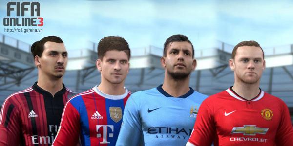 Vì sao FIFA Online 3 lại có nhiều thẻ cầu thủ các mùa giải khác nhau?