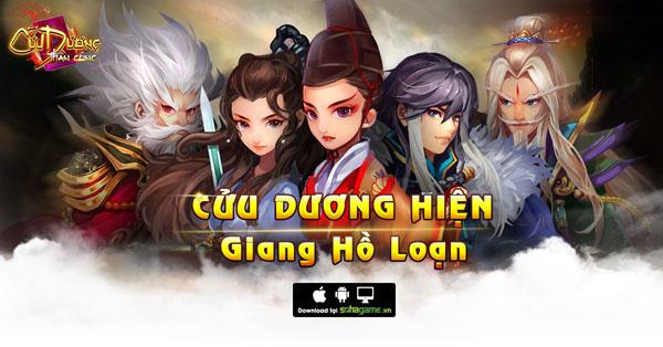 XemGame tặng 300 giftcode game Cửu Dương Thần Công