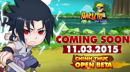 gMO Naruto Đại Chiến cho phép download, ra mắt 11/03