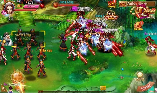 Tặng 300 giftcode game Cửu Dương Thần Công