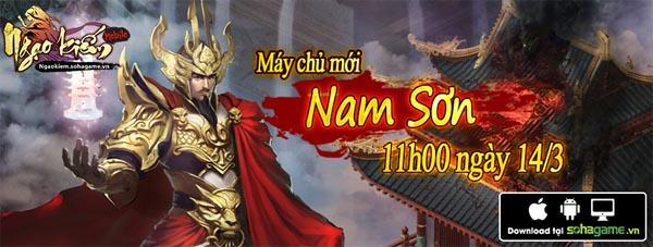Tặng đọc giả 200 giftcode game Ngạo Kiếm Mobile