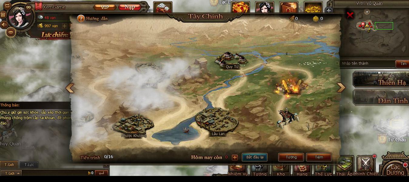 Cận cảnh webgame chiến thuật Công Thành Chiến