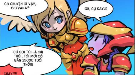 Comic LMHT: Shyvana vảy sắt