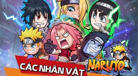 [Infographics] Những nhân vật được yêu thích nhất trong Naruto Đại Chiến