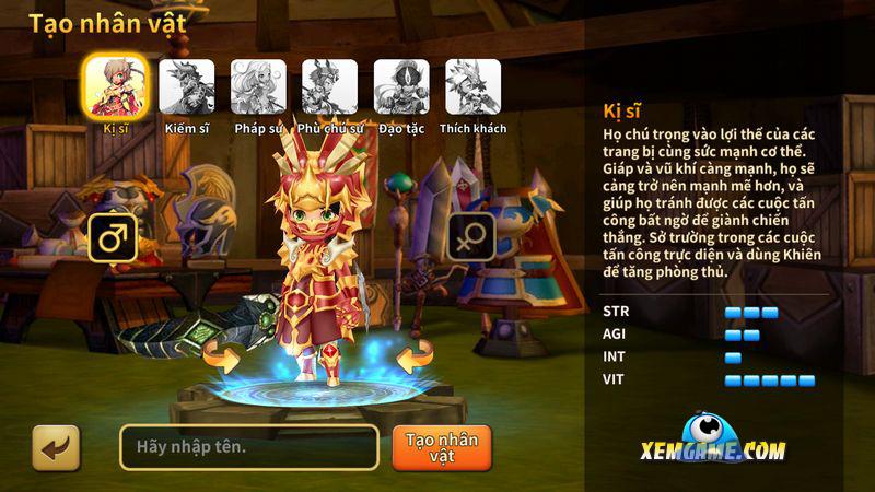 Kiếm Rồng mobile | XEMGAME.COM
