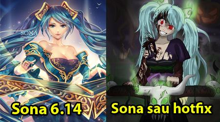 LMHT: Bản hotfix của 6.14, Sona bị nerf vì quá bá (67% hồi chiêu cuối)