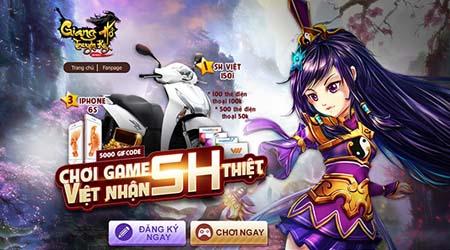 Giang Hồ Truyền Kỳ chính thức tung cánh trên bầu trời game Việt, tặng ưu đãi bạt ngàn