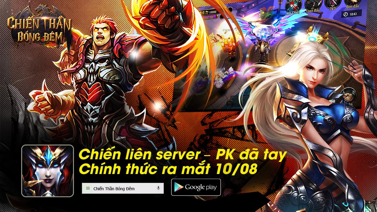 Xemgame tặng 500 giftcode game Chiến Thần Bóng Đêm