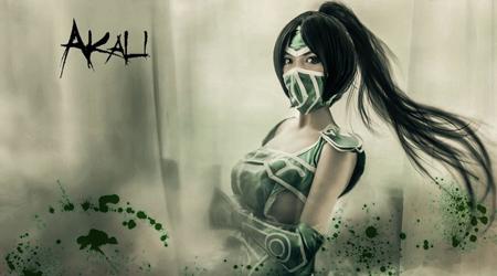 Cosplay cô nàng Akali sát thủ đầy bí ẩn