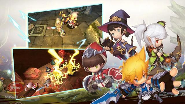 Dragon Nest Mobile lộ clip gameplay 12 phút cực chất