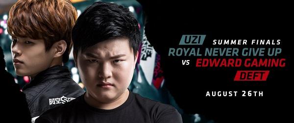 LMHT: Edward Gaming vs. Royal Never Give Up, ai sẽ là tân vương LPL?