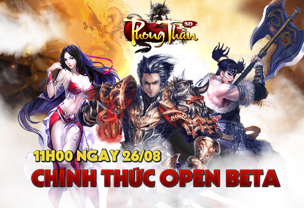 XemGame tặng 300 giftcode game Phong Thần 3D