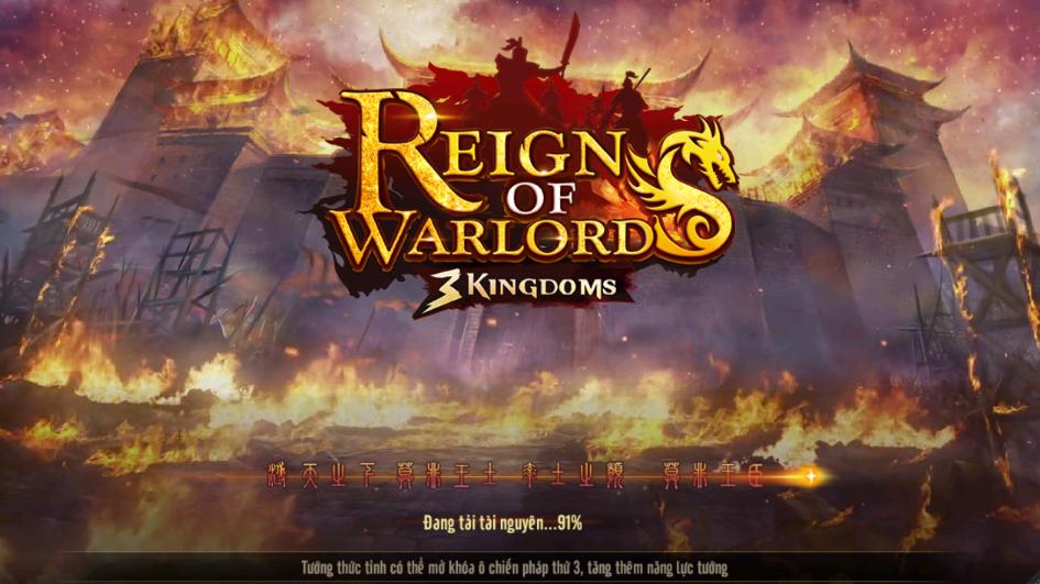 6/9 – Bắt đầu trải nghiệm game mobile chiến thuật Reign of Warlords