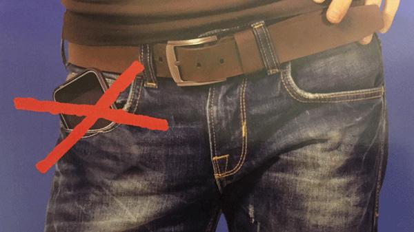 Đây là lý do vì sao nam giới tuyệt đối không nên để điện thoại nơi túi quần