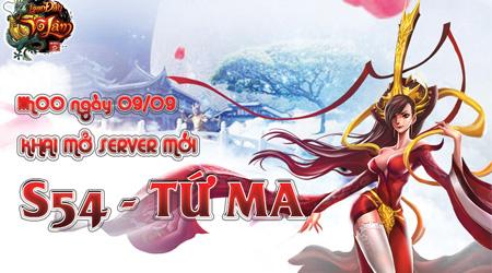 Ra mắt server Tứ Ma, Loạn Đấu Võ Lâm gửi tặng game thủ GiftCode đầy giá trị