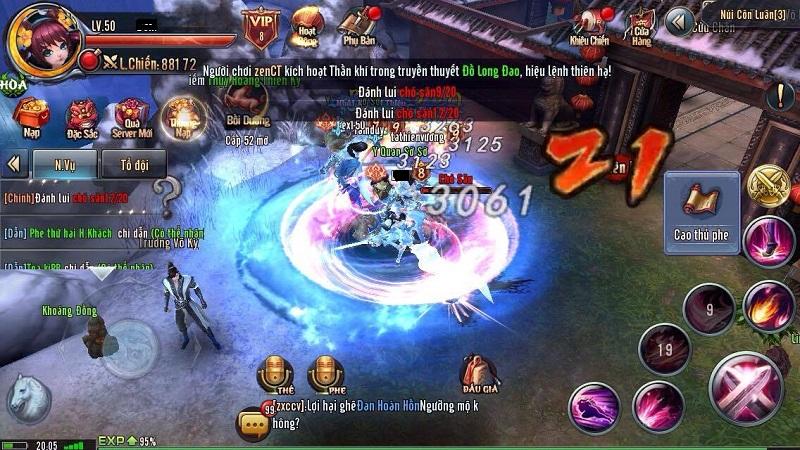 Ỷ Thiên 3D gây sốt cộng đồng với chiến trường khổng lồ 100.000 người chơi mỗi ngày