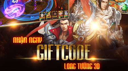XemGame tặng 300 giftcode game Long Tướng 3D