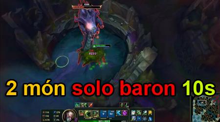 LMHT: Bug nghiêm trọng 6.19, Singed 2 món solo Baron chỉ cần 10s