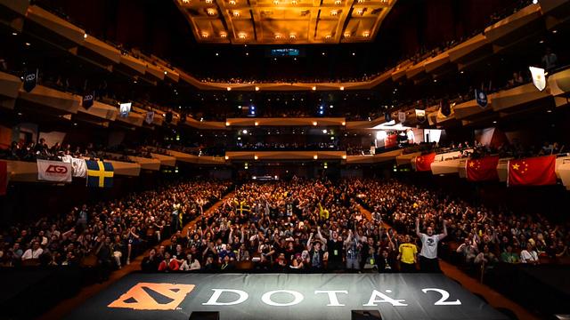 Mùa giải mới của làng DOTA 2 thế giới chính thức mở màn