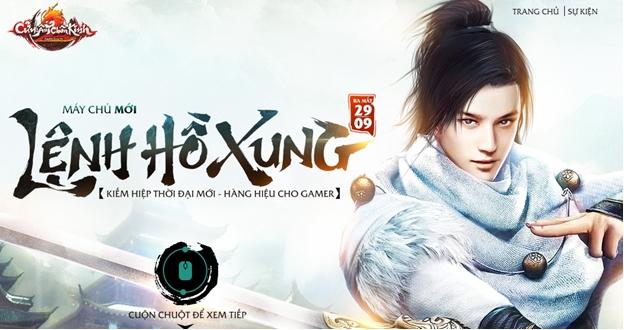 XemGame tặng 500 giftcode game Cửu Âm Chân Kinh 2 máy chủ Lệnh Hồ Xung